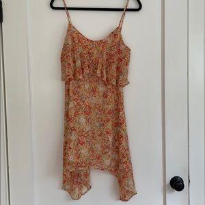 BCBGeneration Assymetrical Printed Dress
